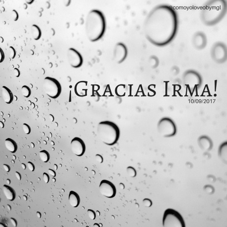 ¡Gracias Irma!