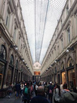 Las Galerías de Bruselas.