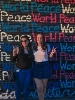 Paz mundial, siempre.