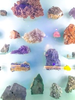 Piedras de todos los colores y texturas.